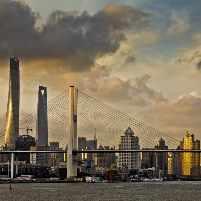 """shanghai city"" stock image"