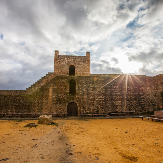 """Spanish Old Fort"" stock image"