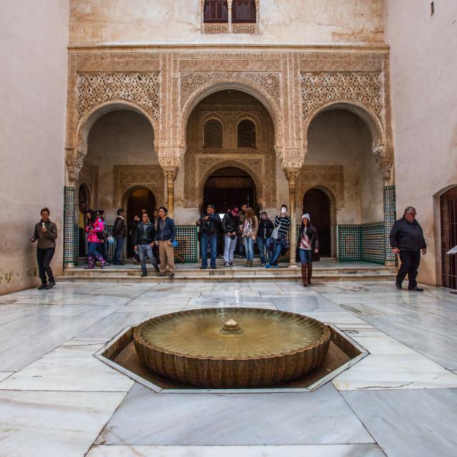"""Alhambra Palace, Granada, Spain"" stock image"