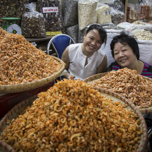 """Vietnam indoor market."" stock image"
