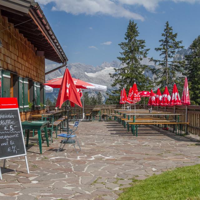 """Austrian Gasthaus"" stock image"