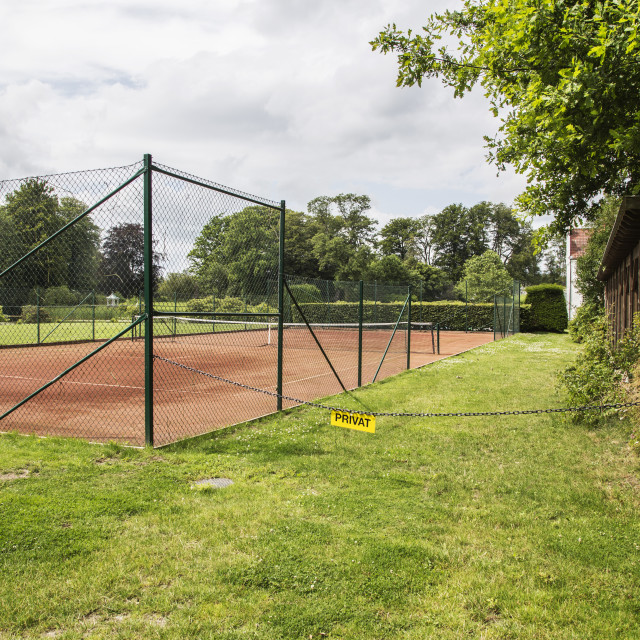 """private tennis"" stock image"