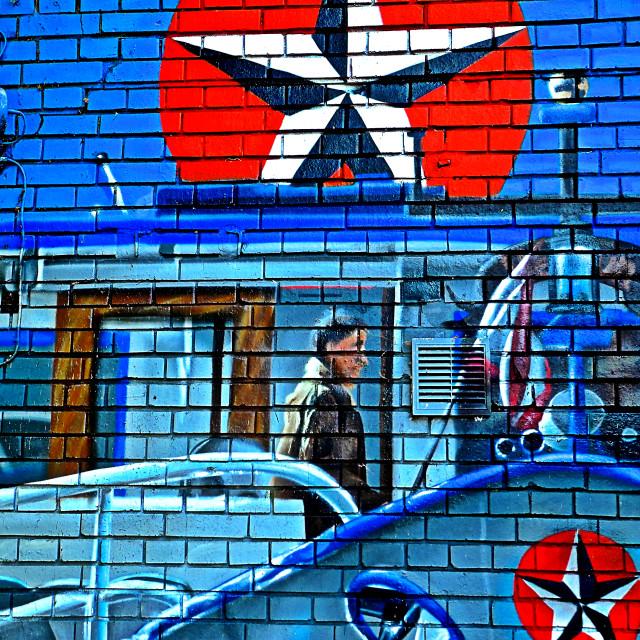 """""""Murales a Berlino"""" stock image"""
