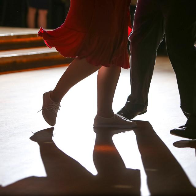 """Dancing Feet 3"" stock image"