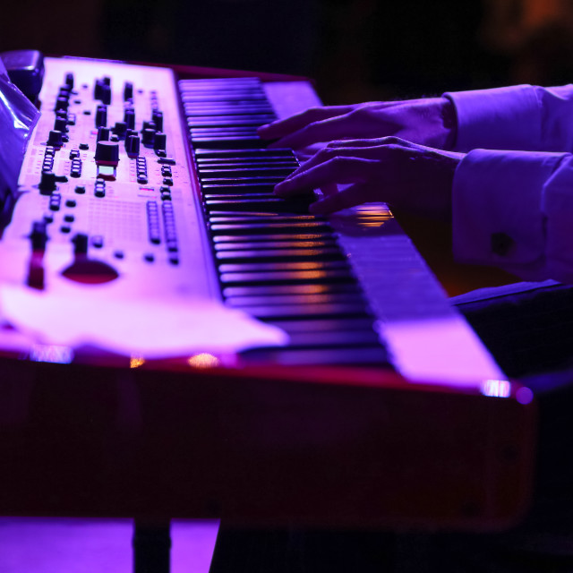 """The Purple Keys"" stock image"