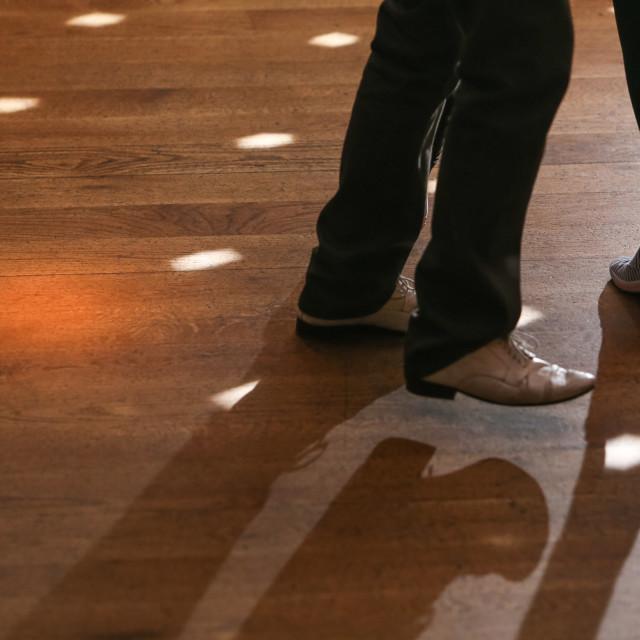 """Dancing Feet 1"" stock image"