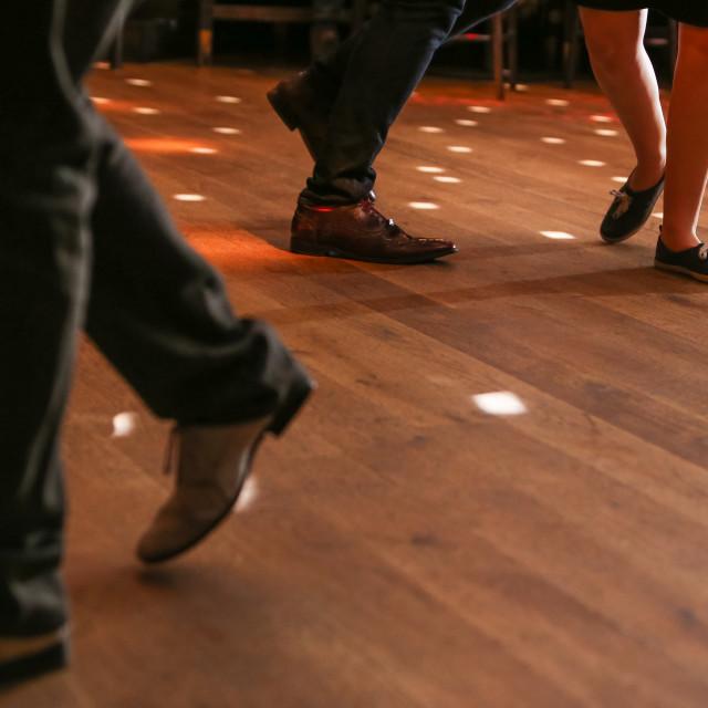 """Dancing Feet 2"" stock image"