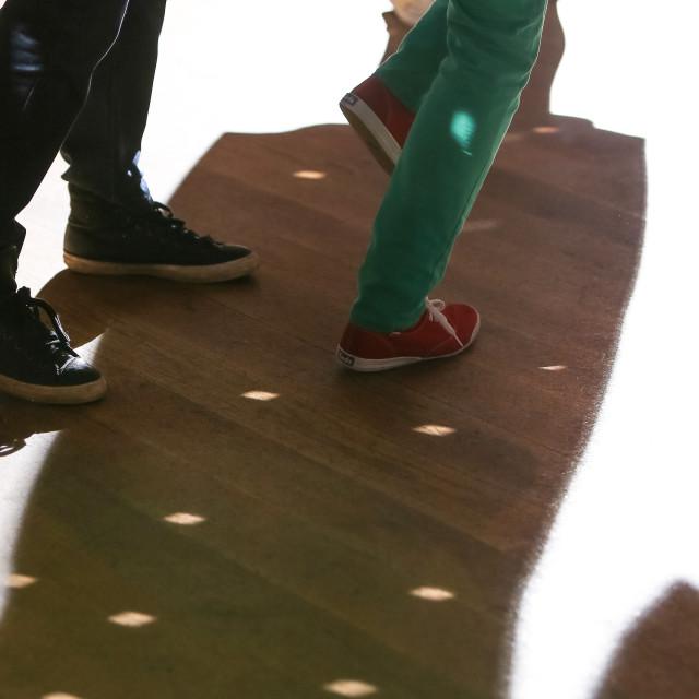 """Dancing Feet 4"" stock image"