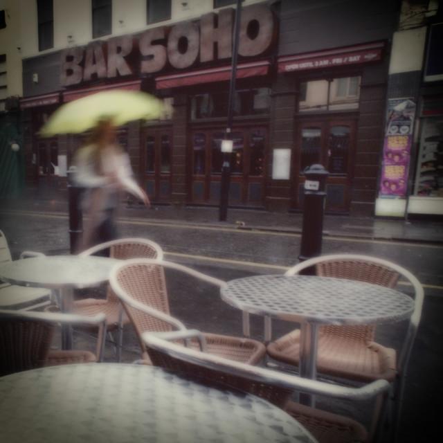 """Bar Soho, Old Compton St, London"" stock image"