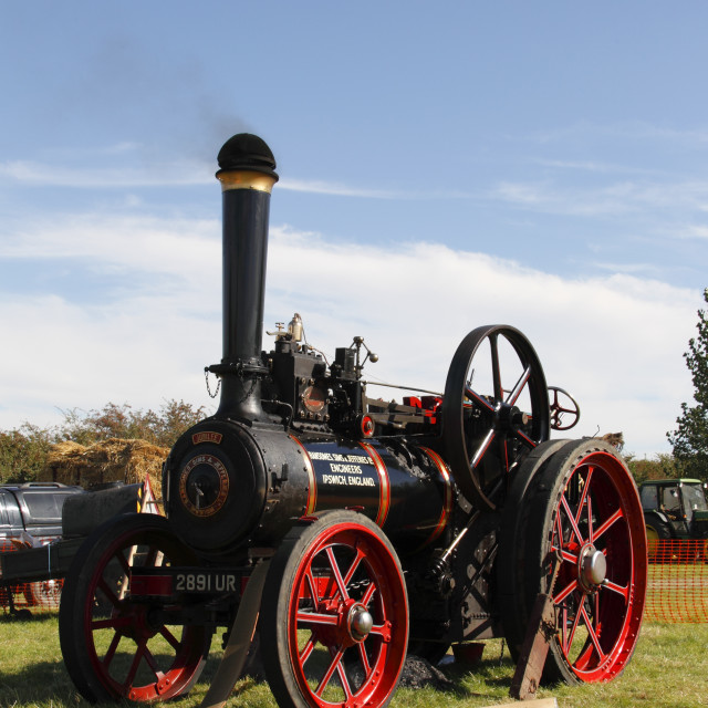 """""""traction engine"""" stock image"""