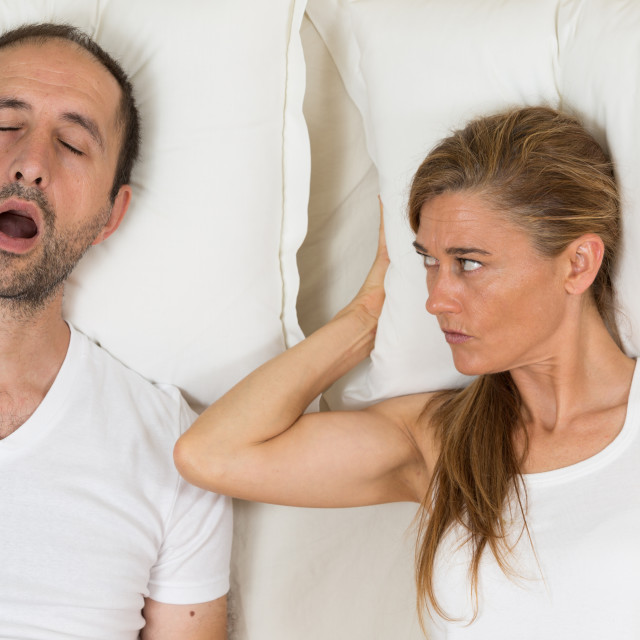"""Woman can not sleep"" stock image"