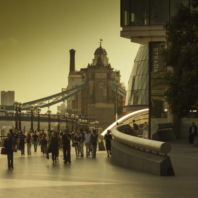 """Shad Thames"" stock image"