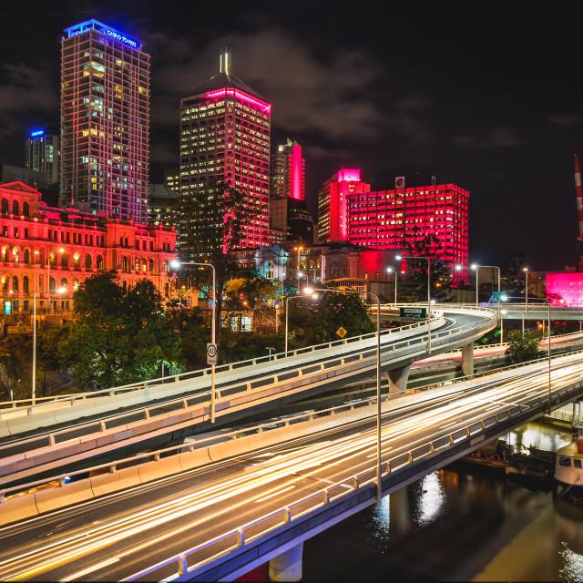 """Brisbane City"" stock image"