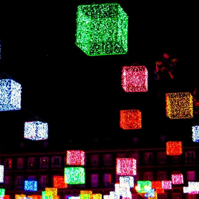 """Plaza Mayor"" stock image"