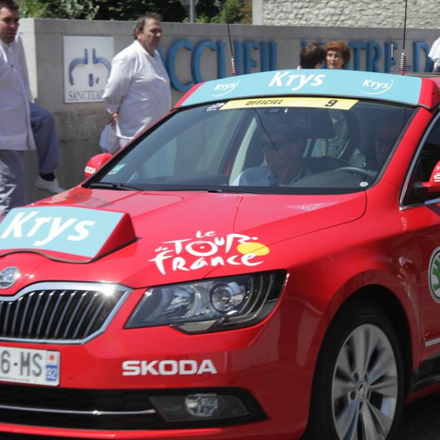 """""""Lourdes03 Tour de France 2015"""" stock image"""