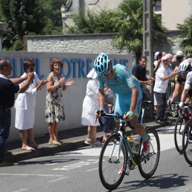 """""""Lourdes06 Tour de France 2015"""" stock image"""