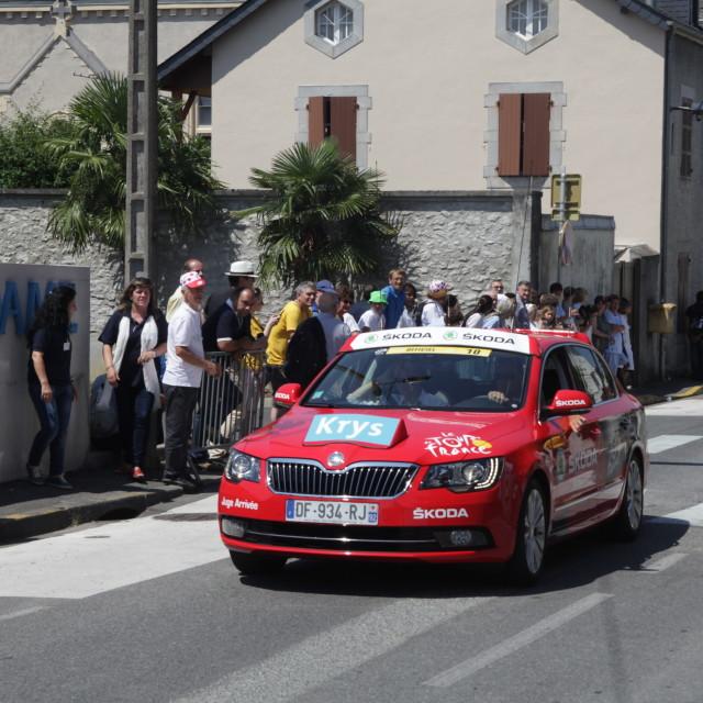 """""""Lourdes02 Touyr de France 2015"""" stock image"""
