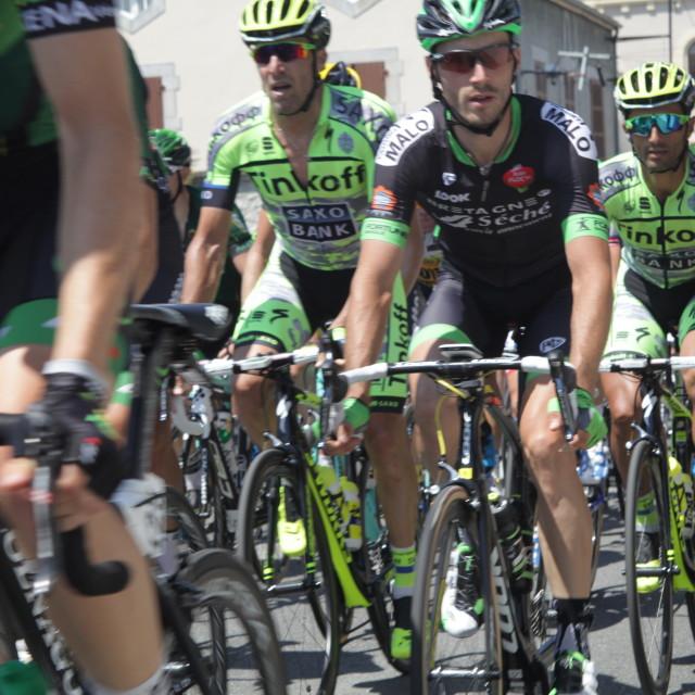 """""""Lourdes16 Tour de France 2015"""" stock image"""