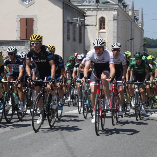 """""""Lourdes15 Tour de France 2015"""" stock image"""