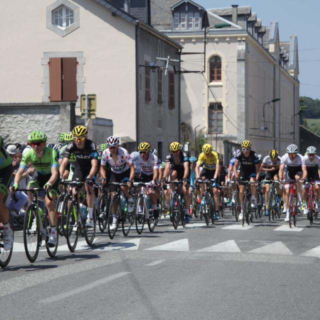 """""""Lourdes13 Tour de France 2015"""" stock image"""