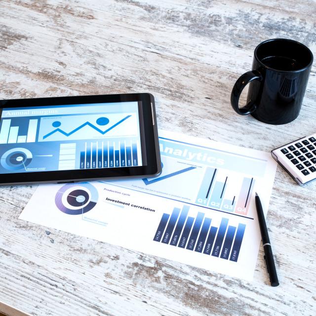 """Business Analytics"" stock image"
