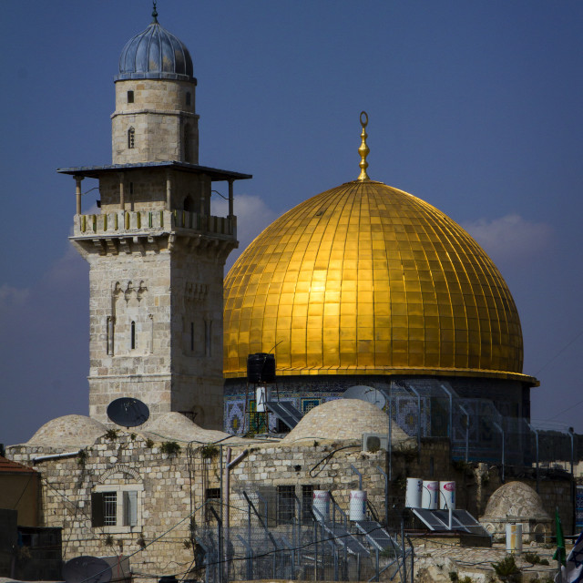"""""""Moschea d'oro"""" stock image"""