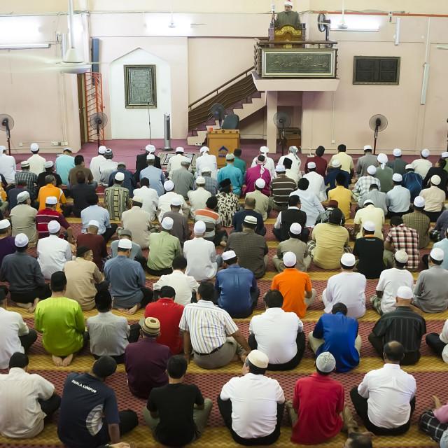 """""""Muslim Prayer"""" stock image"""