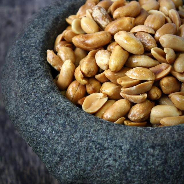 """""""Roasted Peanut"""" stock image"""