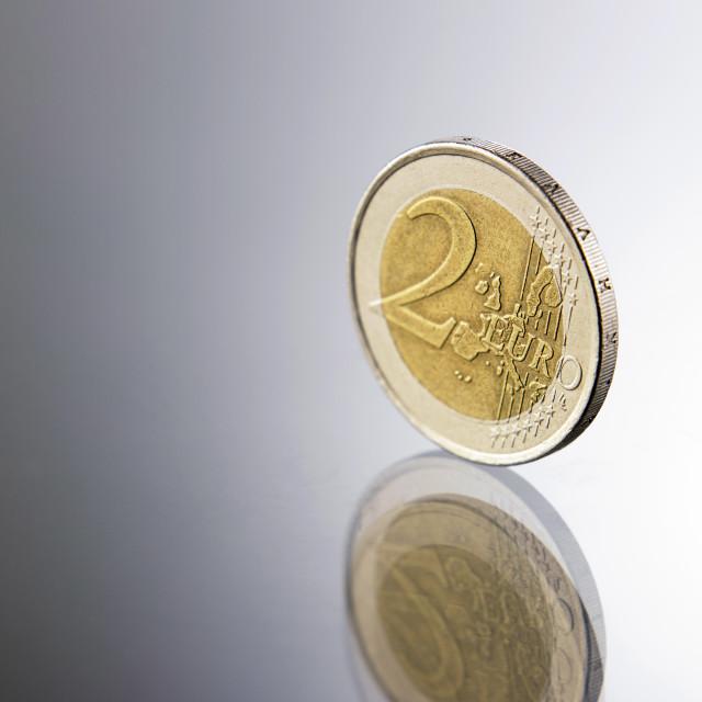 """""""two euro"""" stock image"""