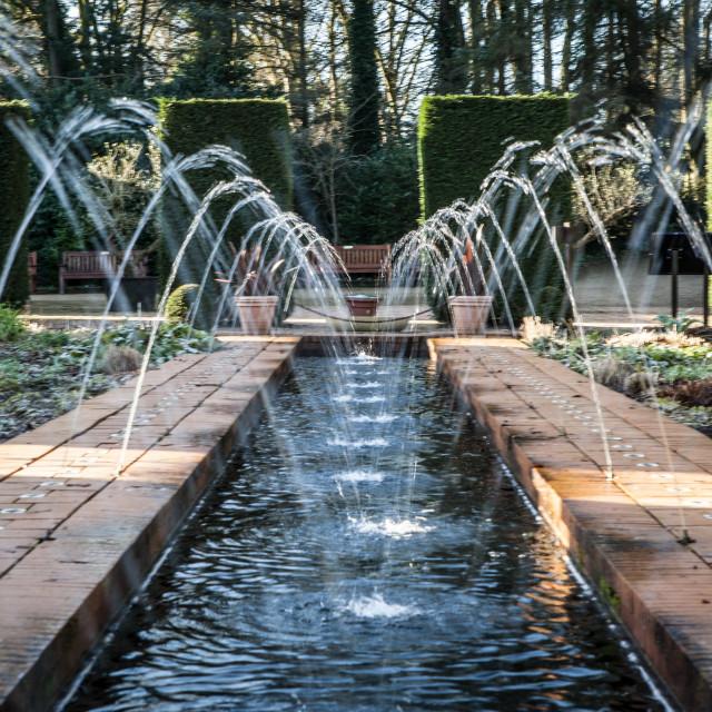 """Fountain Gardens"" stock image"