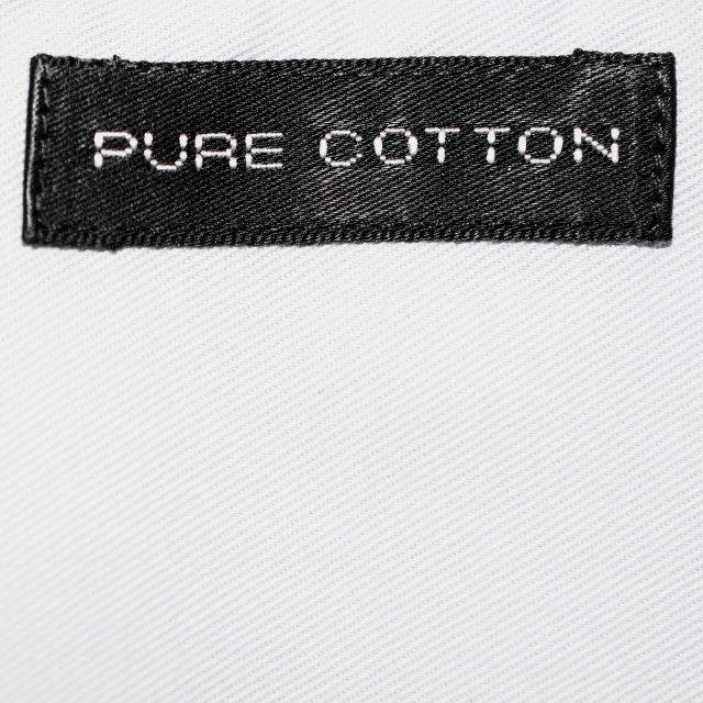 """Pure cotton"" stock image"