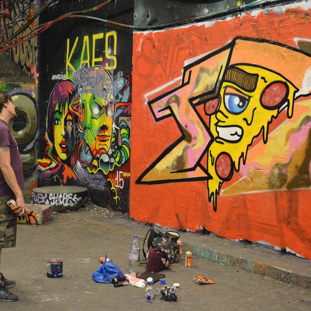 """Graffiti Artist"" stock image"