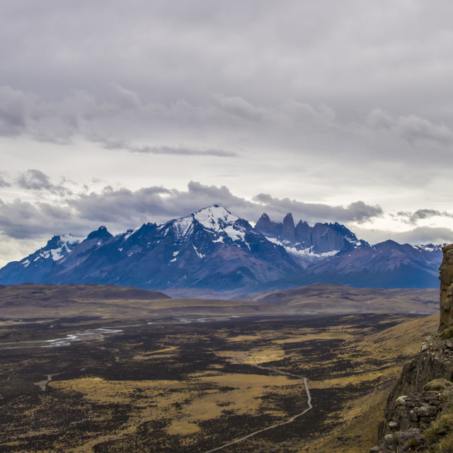 """Chilean Patagonia"" stock image"