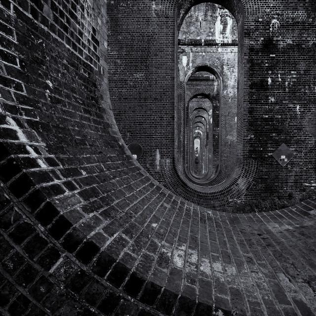"""Balcombe Viaduct"" stock image"