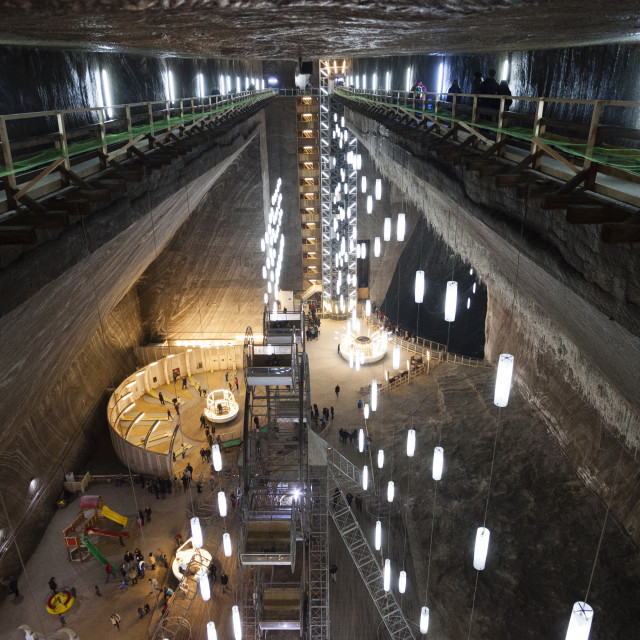 """Salt Mine Turda"" stock image"