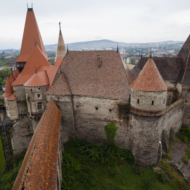 """Corvin Castle"" stock image"