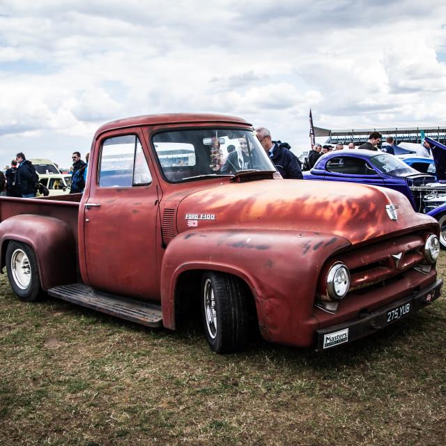 """Pickup truck"" stock image"