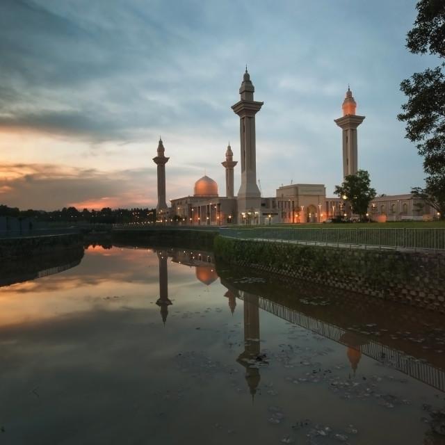"""Unique Mosque,Malaysia."" stock image"