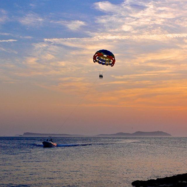 """""""Sunset in Ibiza"""" stock image"""