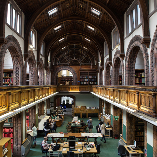 """""""Leeds City Library"""" stock image"""