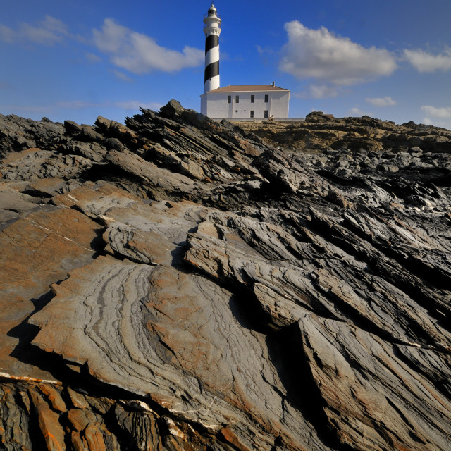 """Cap Favartx Lighthouse, Menorca"" stock image"