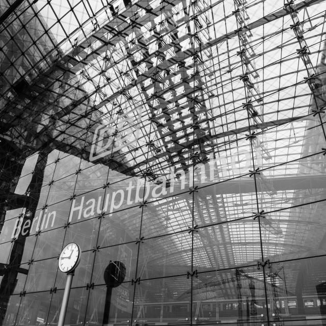 """Berlin Station"" stock image"