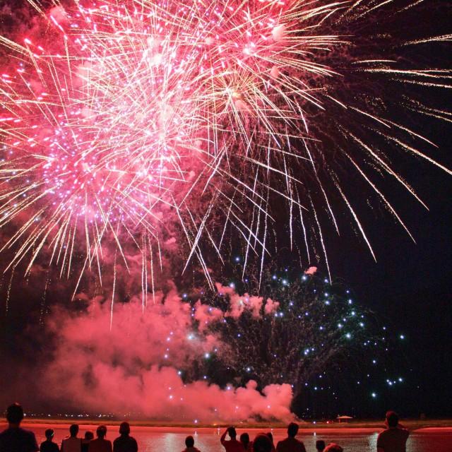 """Fireworks"" stock image"