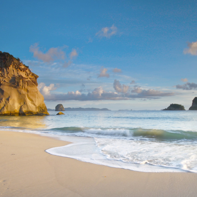 """Cathedral Cove"" stock image"
