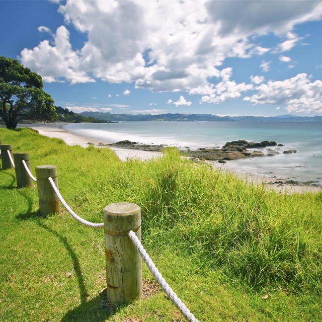 """""""Coromandel Coast"""" stock image"""