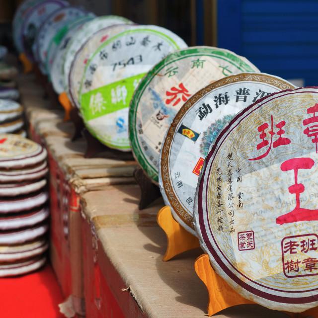 """Chinese Tea Shop"" stock image"