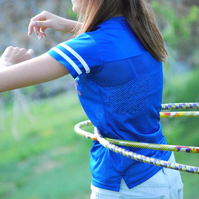 """Hula hoop."" stock image"
