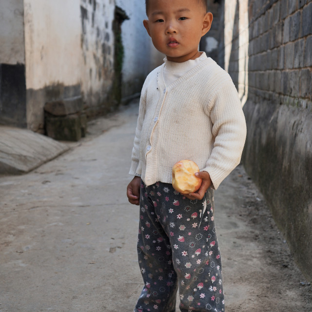 """Chinese Boy"" stock image"