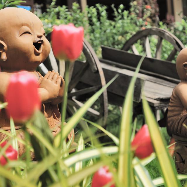 """Buddhist Figures"" stock image"