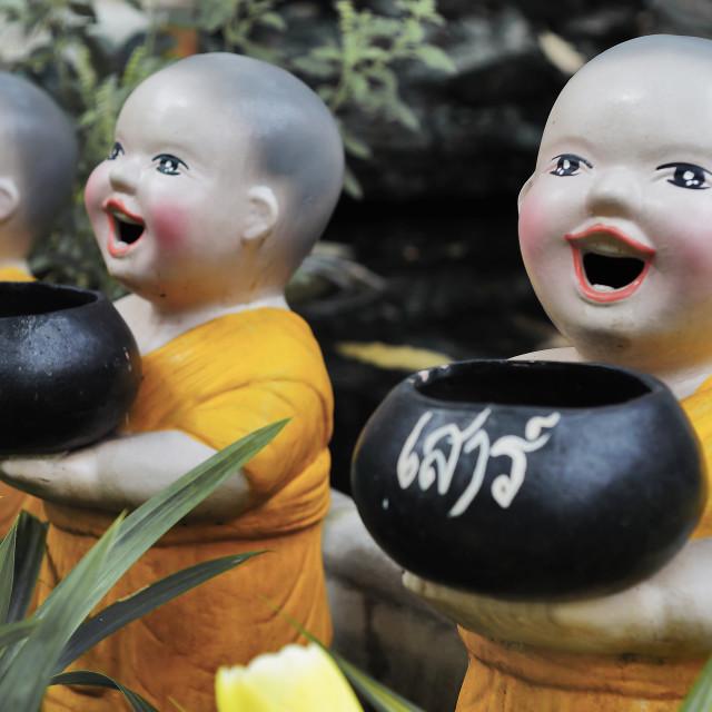 """Buddhist Bowls"" stock image"